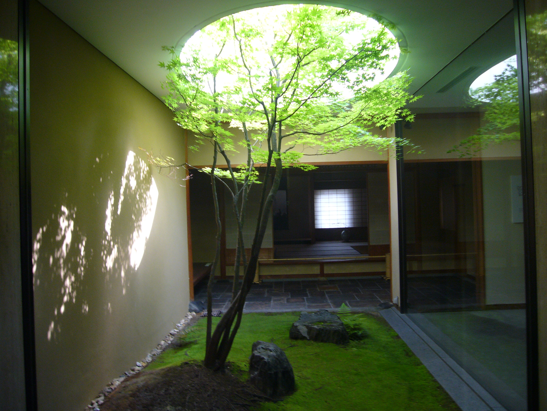 House Patio すばらしい坪庭がこんな場所に 三浦尚人建築設計工房の徒然日記